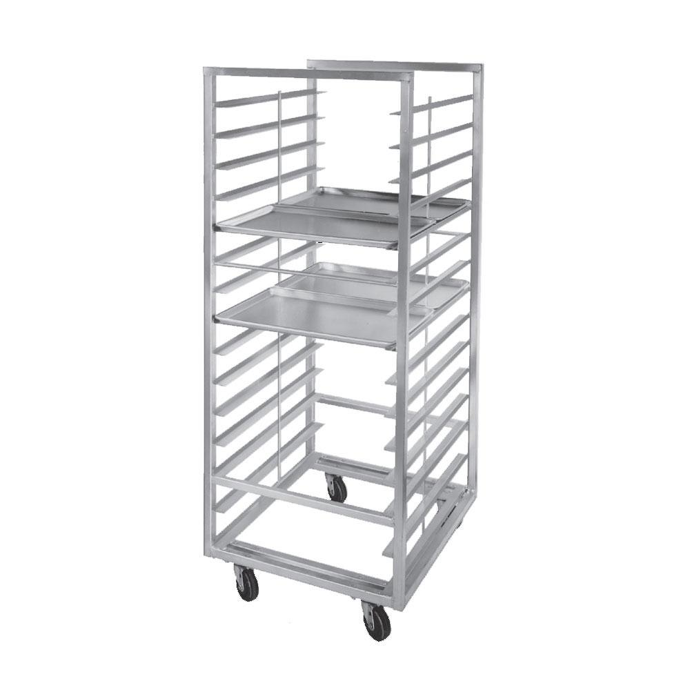 Channel 414S-DOR Double Section Side Load Stainless Steel Bun Pan Oven Rack - 20 Pan