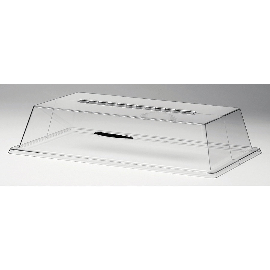 Cal Mil 329-18 18 inch x 26 inch Bakery Tray Cover with Long Cut Opening and Hinged Door