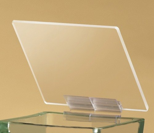 Cal Mil 1811 Hinged Lid for Square Glass Jars 3 / Pack