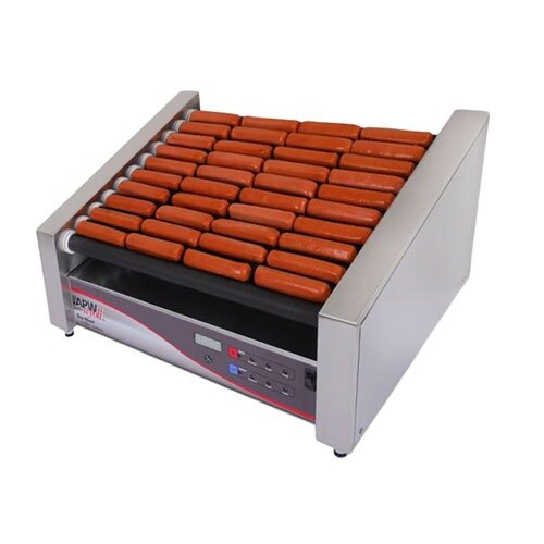 "APW Wyott 208/240 Volt APW Wyott HRDi-50S X*PERT Digital Hotrod 50 Hot Dog Roller Grill - 30 1/2"" Flat Top at Sears.com"