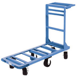 "Win-Holt 550 18"" x 51"" Heavy Duty Utility Cart with Rubber Wheels - 700 lb. Capacity at Sears.com"