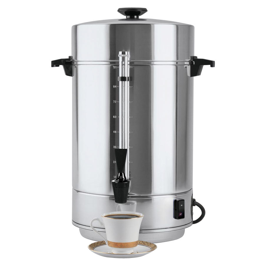 West Bend 58001R 101 Cup (3.9 Gallon) Aluminum Coffee Urn