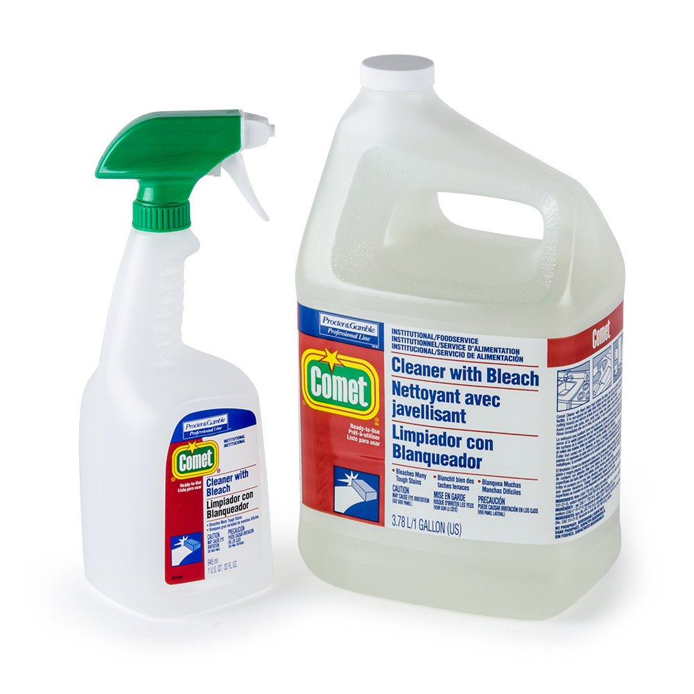 Comet Cleaner With Bleach Sds
