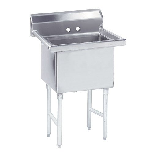 Advance Tabco FS-1-2424 Spec Line Fabricated One Compartment Pot Sink - 29""