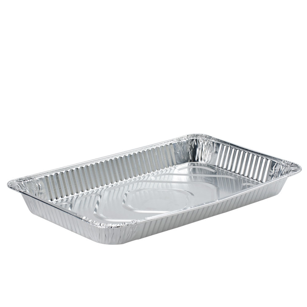Full Size Foil Steam Table Pan Medium Depth 2 3/16 inch Deep 50/Case