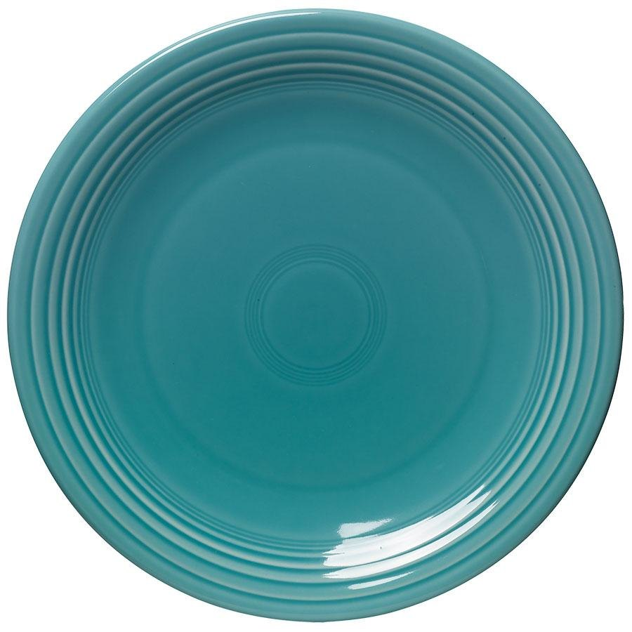 "Homer Laughlin 467107 Fiesta Turquoise 11 3/4"" Chop Plate - 4/Case"