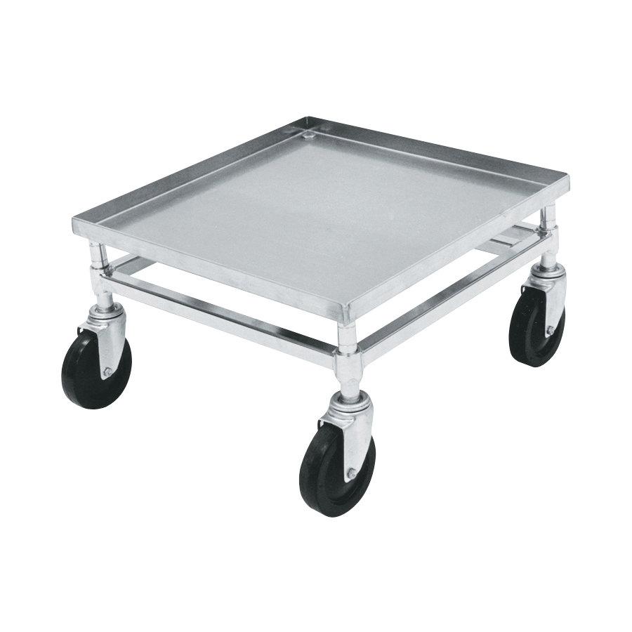 Heavy Duty Glass : Metro d c heavy duty aluminum glass rack dolly no handle