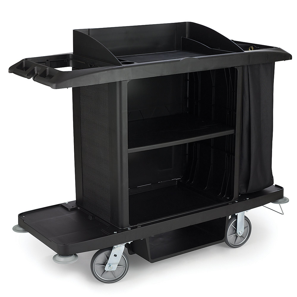 Rubbermaid 6189 Full Size Housekeeping Cart