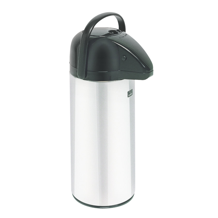 Zojirushi 2.2 Liter Glass Lined Push Button Airpot (Bunn 28696.0006)