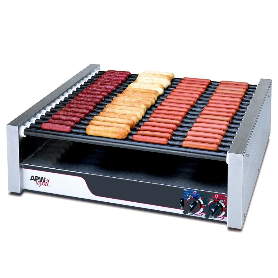 APW Wyott HR-85 X*Pert Flat Top Hot Dog Roller Grill - 208/240V, 2017/2640W at Sears.com