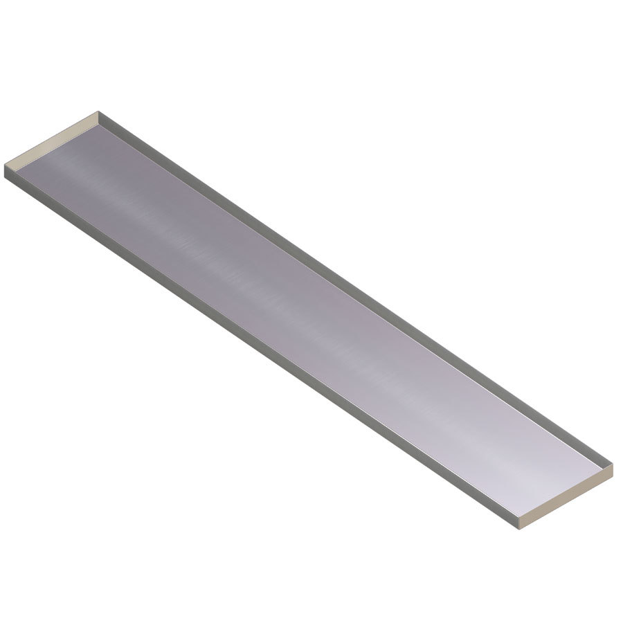 APW Wyott 32010191 Stainless Steel Dish Shelf for 5 Well Sealed Element Steam Table