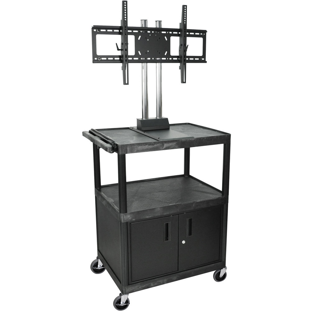 Luxor Kitchen Cabinets: Luxor / H. Wilson WPTV44C2E Tuffy Flat Panel TV Cart With