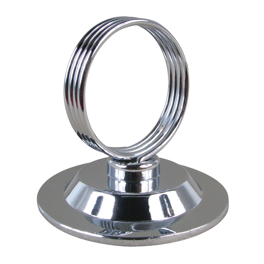 Heavy Base Ring-Type Menu / Card Holder - 2 1/2 inch