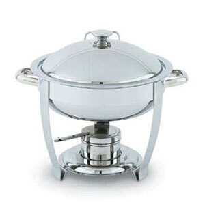 Vollrath 46502 6 Qt. Orion Lift-Off Large Round Chafer