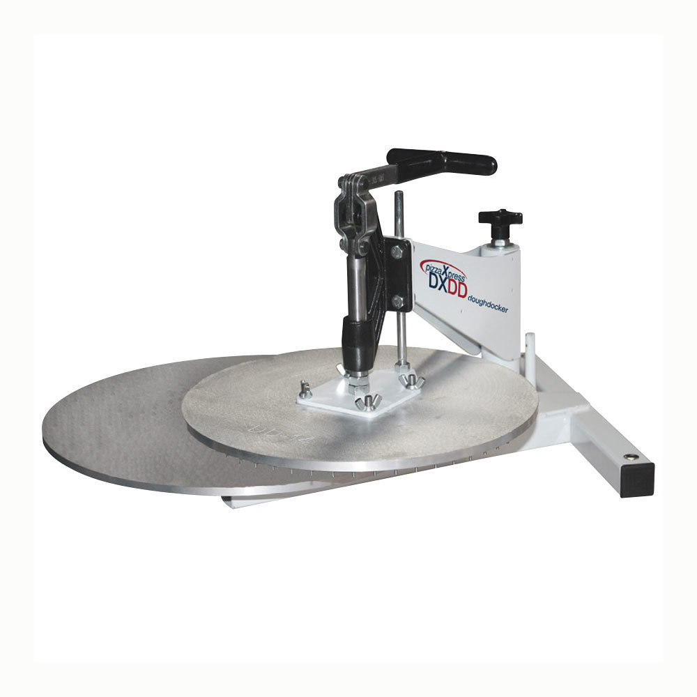 DoughXpress DXDD-18 Dough Docking Press with 18 inch Platen