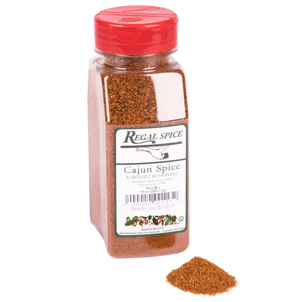 Regal Cajun Spice Amp Skillet Seasoning 10 Oz