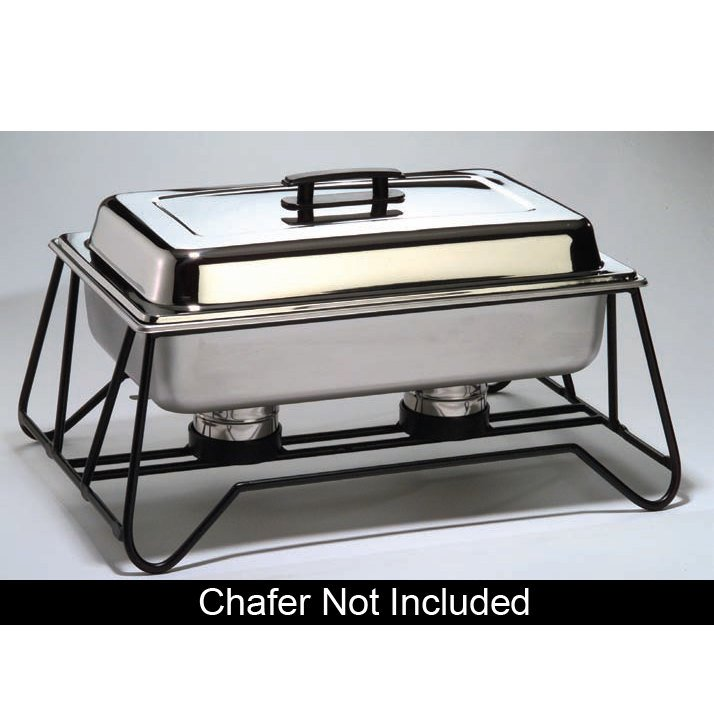 American Metalcraft SCF2 Stackable Wrought Iron Chafer Stand