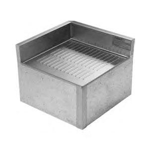 Eagle Group MRC-22 Modular Rear Corner Drainboard for 2200 Series Underbar Units