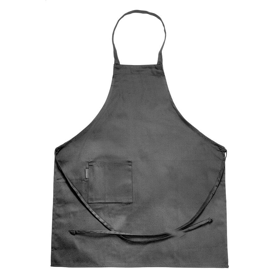 Chef Revival 601BAC-BK Full-Length Black Bib Apron – 30 inch x 34 inch