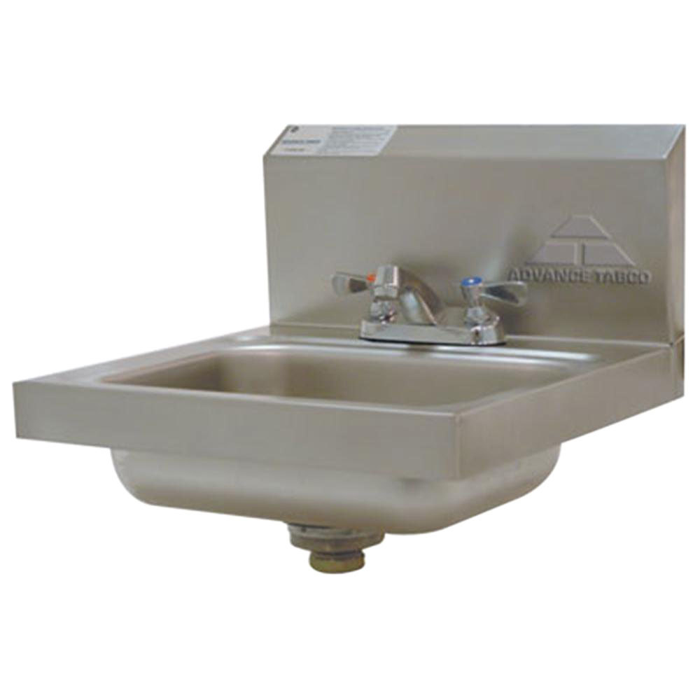 ... Tabco 7-PS-20 Stainless Steel Hand Sink with Faucet and Backsplash