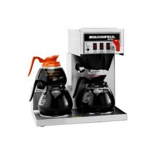 Bloomfield 8572LD3F Koffee King 3 Warmer Left Stepped Automatic Coffee Brewer, 120V