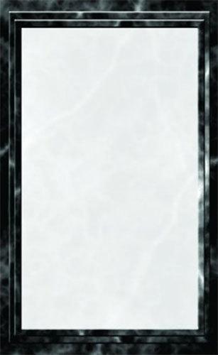 8 1 2 Quot X 11 Quot Black Menu Paper Marble Border 100 Pack