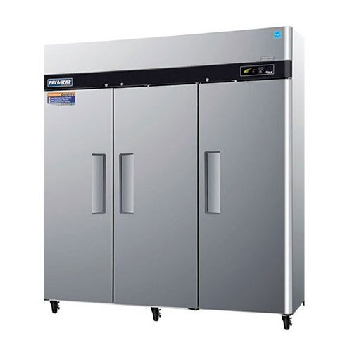 "Turbo Air Refrigeration Turbo Air PRO-77F 78"" Premiere Series Three Section Solid Door Reach in Freezer - 77 Cu. Ft. at Sears.com"