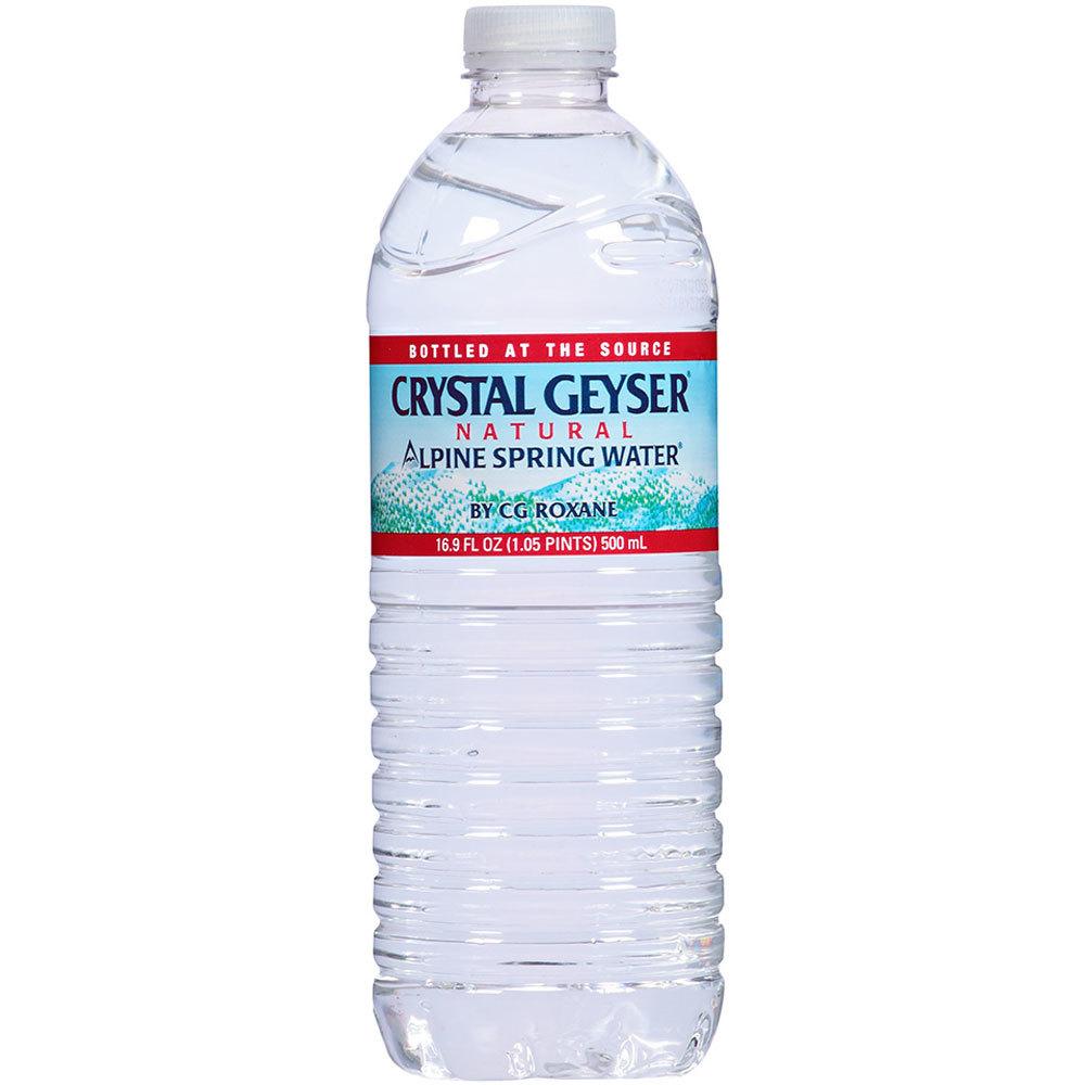 Zephyrhills Sports Bottle: Crystal Geyser 16.9 Oz. Natural Spring Bottled Water 24