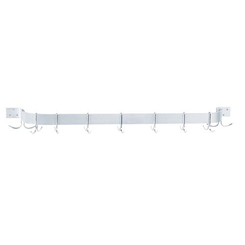 Advance Tabco GW1-72 Wall Mounted Single Bar Pot Rack - 77""