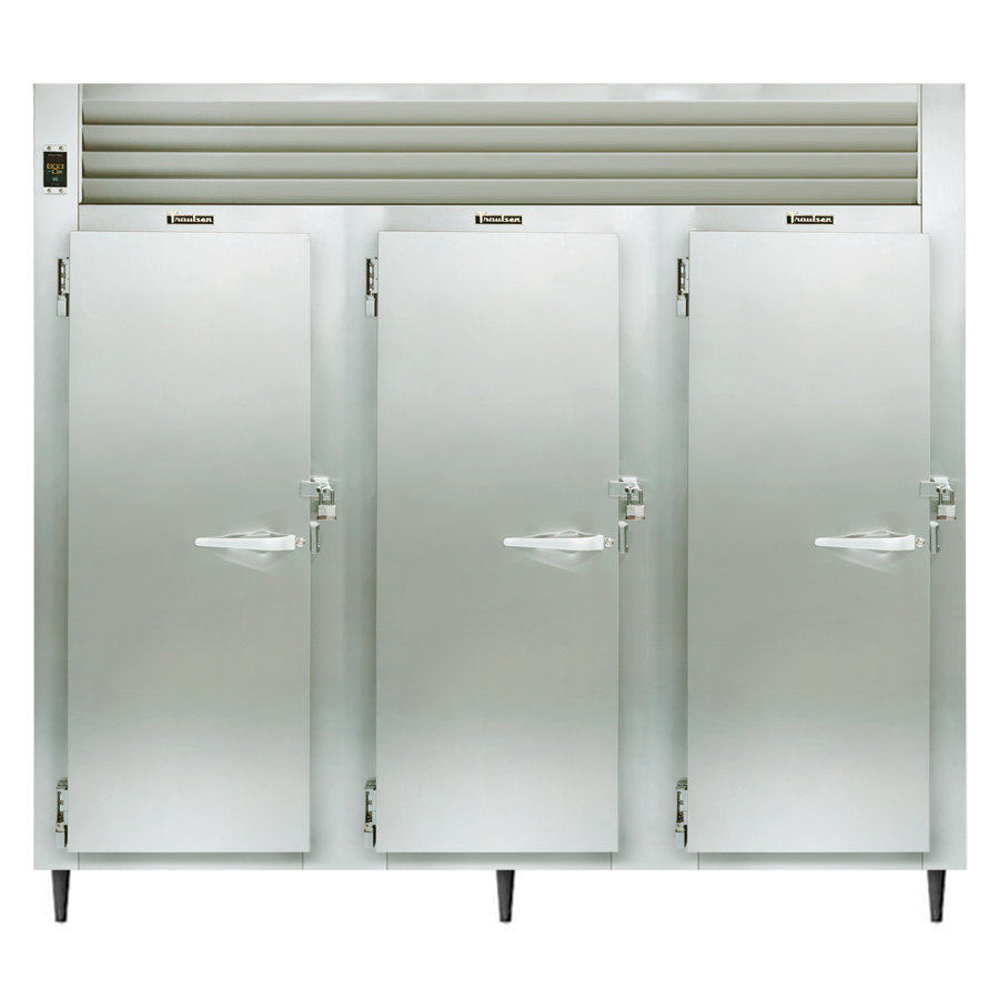 Traulsen AHF332W-FHS 79 Cu. Ft. Solid Door Three Section Reach In Heated Holding Cabinet - Specification Line