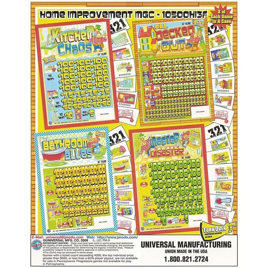 """Home Improvement"" Jar Tickets Game of Chance - Multi-Pack at Sears.com"
