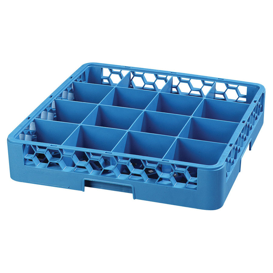 Carlisle RC16 16 Compartment Tilted Cup Rack