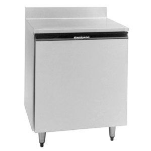 Delfield 403 27 inch Worktop Freezer with One Door and Backsplash