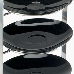 "Cal Mil 737-10-13 Melamine Black Bowl for Cal Mil 977-10 Iron Bowl Display - 10"" x 1"" at Sears.com"