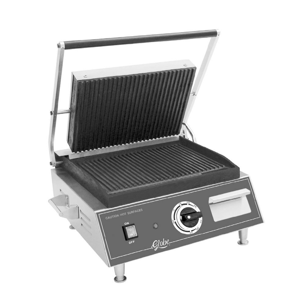 Globe small scraper stainless steel mini grill for