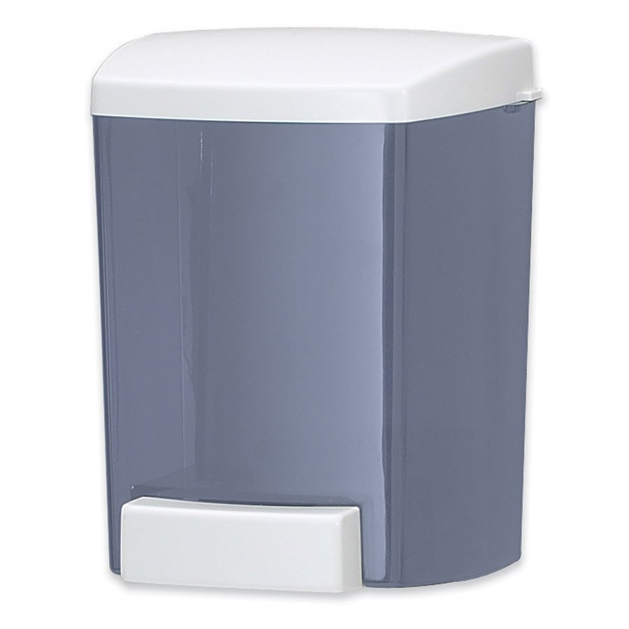 San Jamar S30TBL 30 oz. Bulk Soap Dispenser - Arctic Blue