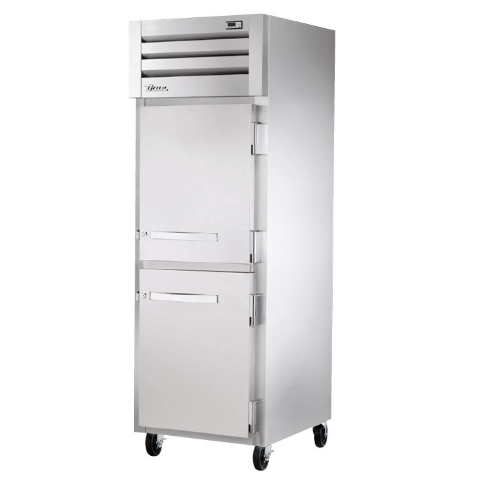 True STG1H-2HS Specification Series Two Section Solid Door Reach In Heated Holding Cabinet