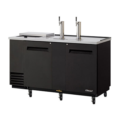 "Turbo Air Refrigeration Turbo Air TCB-3SB Black 69"" Club Top Beer Dispenser - 3 Kegs at Sears.com"