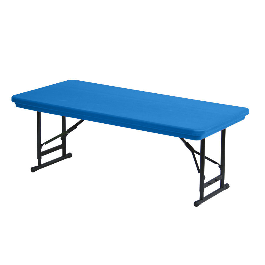 Correll inc standard adjustable height folding table for Table 180 x 85
