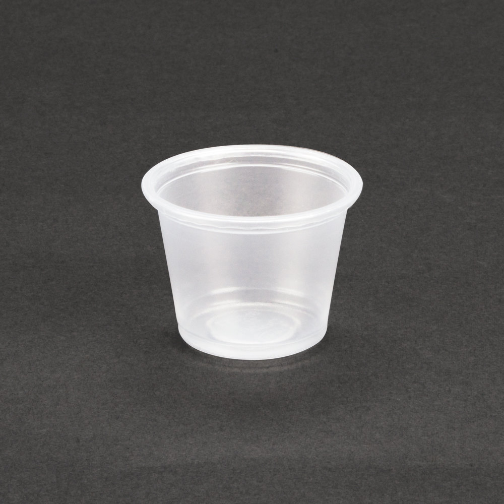 Dart Conex 100PC 1 oz. Plastic Souffle / Portion Cup 2500/Case