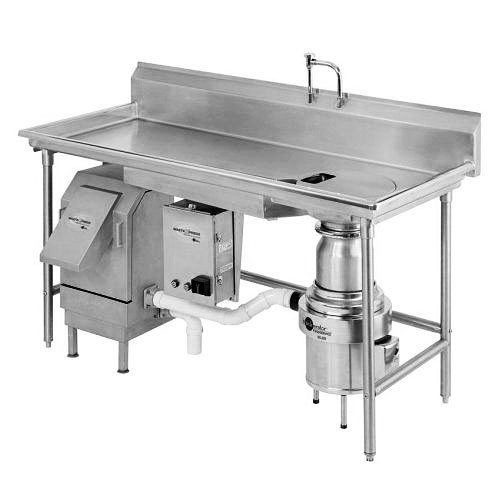 Insinkerator wx 500 6 wx 101 waste xpress 700 lb food for Machine plonge restaurant