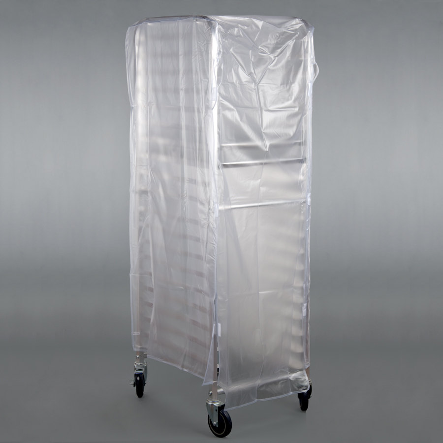 Marko 5675CL018 Bun Pan Rack Cover - 8 Mil