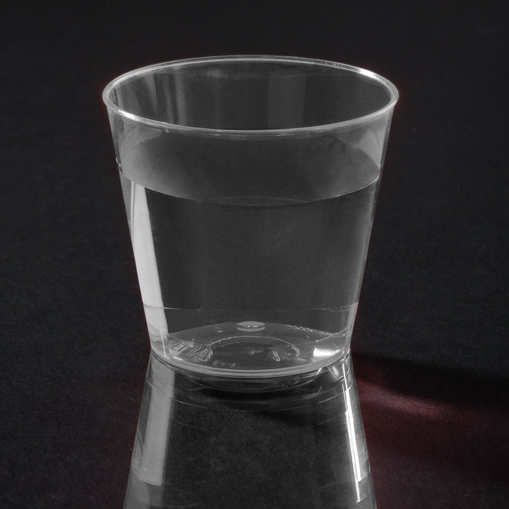 Fineline Quenchers 401 1 oz. Plastic Shot Cup 50 / Pack
