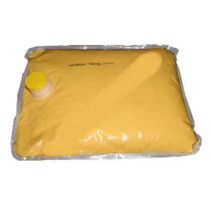Gold Medal 5279 140 oz. Aged Cheddar Bag Cheese 4/Case
