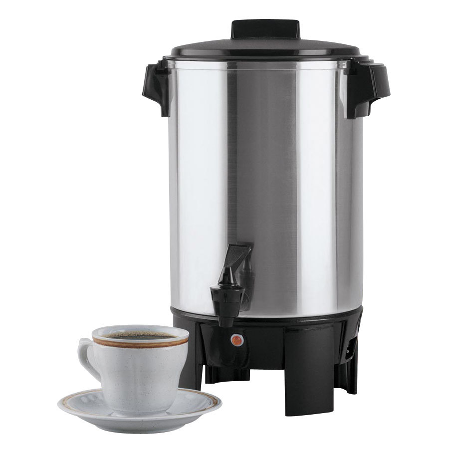 Regalware 58030R 30 Cup (1.2 Gallon) Aluminum Residential Coffee Urn