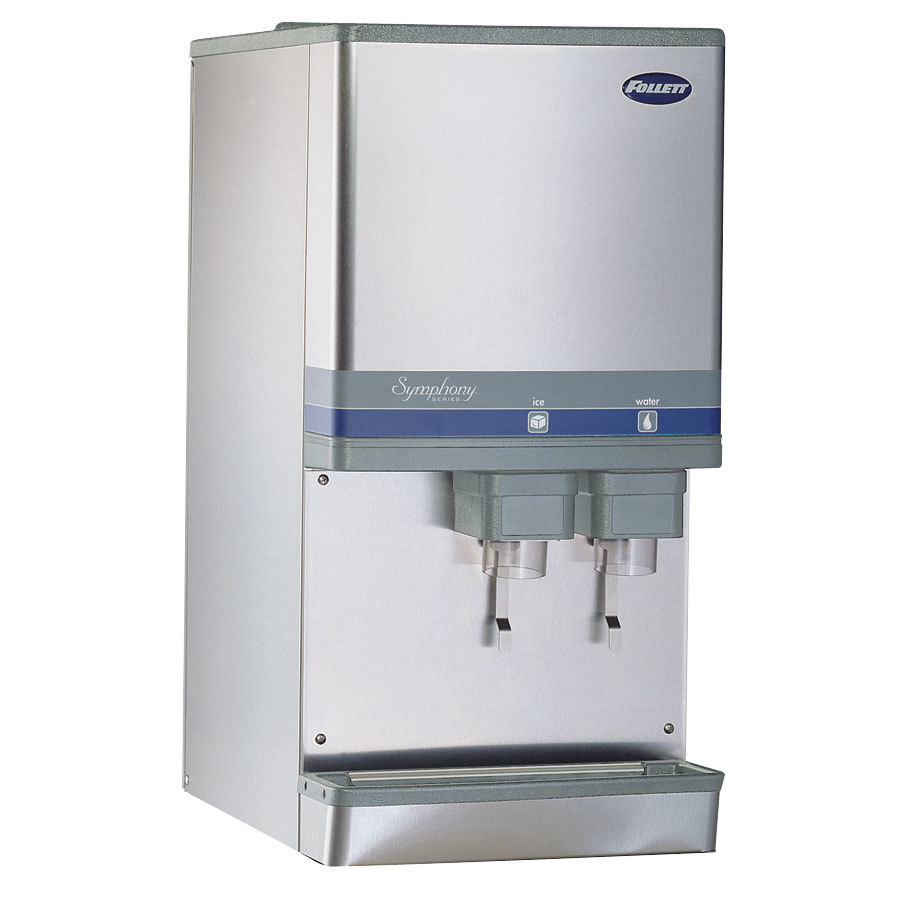 Countertop Ice Maker and Water Dispenser Compressed Nugget Ice ...