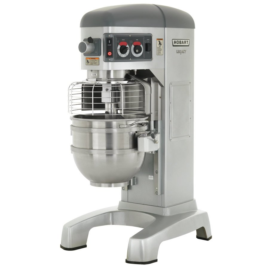 Hobart Legacy HL662-1STD 60 qt. Pizza Mixer with Standard Accessories - 200-240/50/60/3/1 Phase