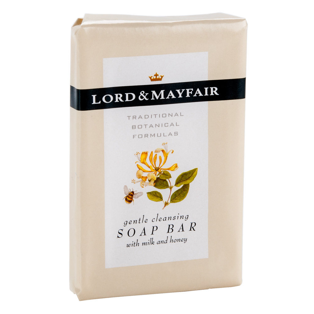 Lord mayfair hotel and motel soap bar 1 1 oz 300 case for Motel one shampoo
