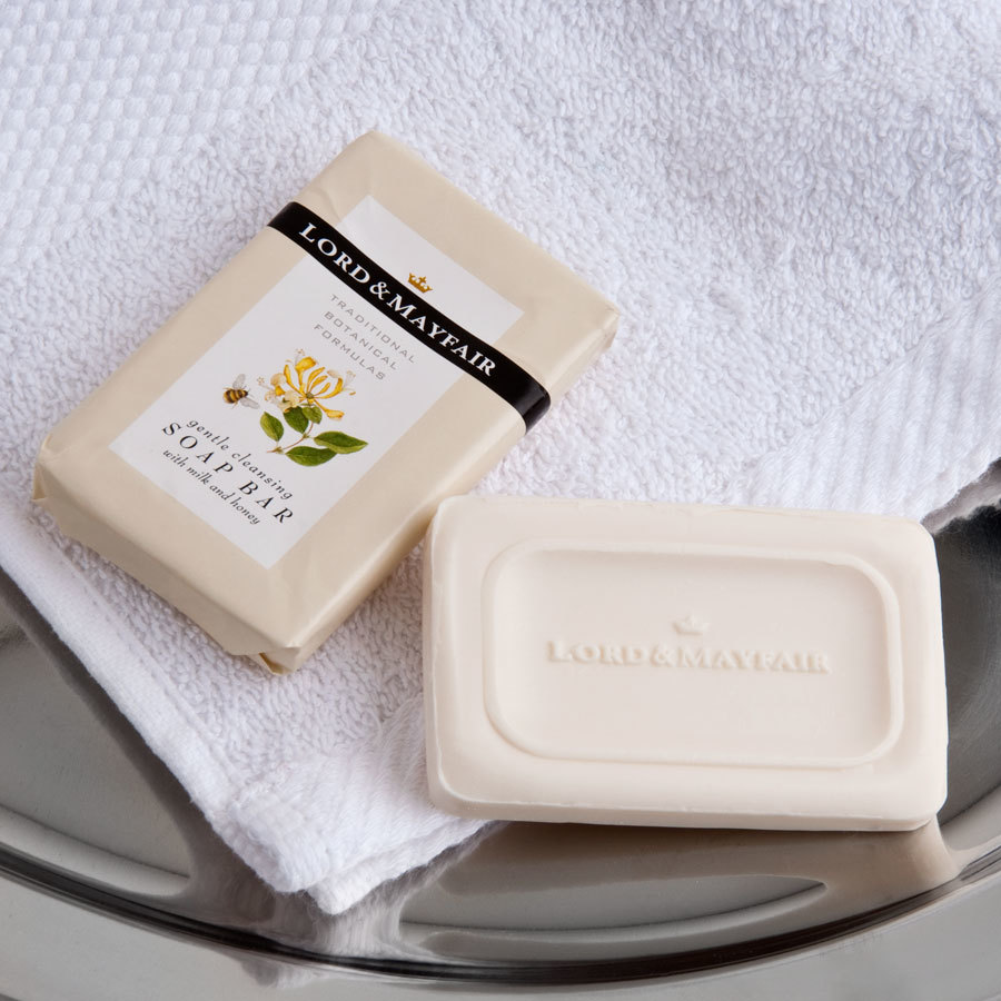 Lord mayfair hotel and motel soap bar oz 300 case for Motel one shampoo