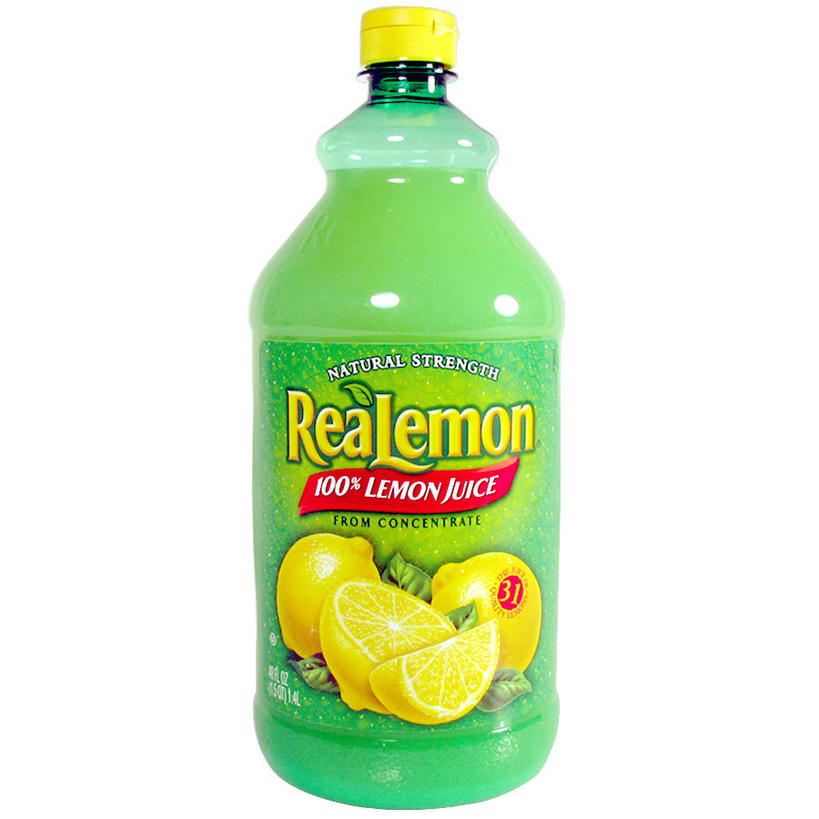 ReaLemon 100% Lemon Juice - 48 oz. Bottle